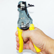 Automatic Cable Wire Lead Stripper Strip Cutter Machine AWG 24 16 14 12 2001A US