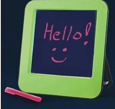 NEW Avon Glowing Neon Dry Wipe Erase Board with Pen & Stand