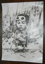 Dran 1984 Art Print Poster 2008 Edition Populaire Offset Lithograph