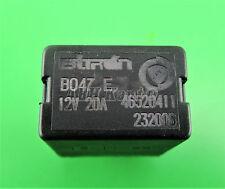 204-fiat alfa lancia (90-10) 4-Pin noir relais 46520411 232006 12V 20A B047E