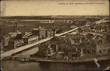 Amsterdam pays-BAS NEDERLAND AK ~ 1910 usines tu CACAO BLOOKER Fjord port