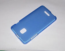 funda carcasa gel flexigel tpu mate alcatel pop star ot5022d 5022 Azul Oscuro