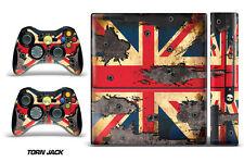 Skin Decal Wrap for Xbox 360 E Gaming Console & Controller Sticker Design TORN J