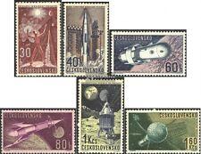 Tschechoslowakei 1329-1334 (kompl.Ausg.) gestempelt 196
