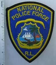 R.L. NATIONAL POLICE FORCE - ORIGINAL Vintage SHOULDER PATCH