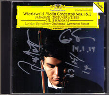 Gil SHAHAM Lawrence FOSTER Signiert WIENIAWSKI Violin SARASATE Zigeunerweisen CD