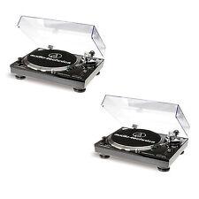 Audio-Technica AT-LP120 USB Plattenspieler Doppelpack - 2 Stück (Black) NEU+OVP