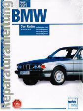 Manuel de réparation BMW Série 7 E32 730i 735i 750i septembre 1986 Bd 931