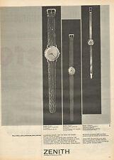 Publicité Advertising 1961  Montre ZENITH