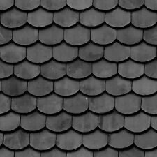 4 SHEETS A4 TILE ROOF 1/24 SCALE VINYL PAPER self adhesive  CODE R2XFFX