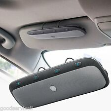 Wireless Bluetooth Handsfree Multipoint Car Kit Speakerphone Sun Visor Universal