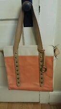Andrea Jovine Coral  Leather Tote bag