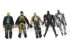 5pcs Terminator 4 Salvation Toy T-700 John Connor Barnes Marcus 3.75 In. Figures