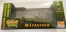 Easy Model MRC 1/72 German M 1 Panther Tank W/ Mine Plow Model Built Up 35049