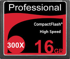 New 16GB CF CompactFlash Compact Flash Memory Card 300X 300 X 45MB/S 16 GB G 16G