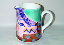 STARBUCKS CIAO ITALYA by BELLINI - HAND PAINTED 20oz CERAMIC ALLIGATOR PITCHER
