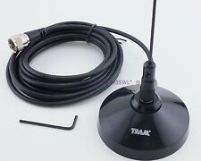 Dual Band 2 Meter 440 Magnet Mount Ham Radio Antenna Coax PL-259 - Sold by W5SWL