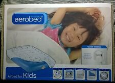 Aerobed Airbed for Kids Comfortable 4 inch side bumpers Quick Inflation Pump