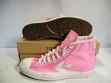 CONVERSE ALL STAR PLAYER MID MEN SZ 7.5 /WOMEN SZ 9.5 SHOES PINK/WHITE 1K657 NEW