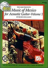 MUSIC OF MEXICO  FOR ACOUSTIC GUITAR BOOK/CD VOL. I  - MEL BAY - Gift Quality!
