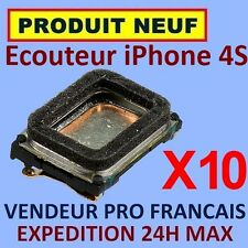 ✖ LOT DE 10 MODULES ECOUTEURS HAUT PARLEUR INTERNE IPHONE 4S ✖ NEUF GARANTI 24H
