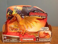 How to Train Your Dragon Defenders of Berk (Fireworm Action Dragon) New