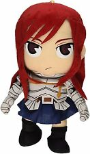 "Official Fairy Tail Fiery Battle Erza Scarlet S-Class Mage7.5"" Soft Plush Doll"
