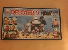 Dougram figure set Deployer-7 Robotech Takara Macross 1/48 Scale