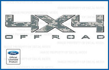 2009  -  2014 Ford F150 4x4 Off Road Decals - FDCACU Digital Camo ACU stickers