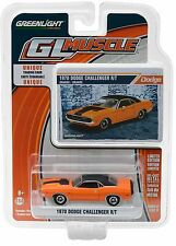 1:64 GreenLight *GL MUSCLE R17* Orange 1970 Dodge Challenger R/T *NIP*