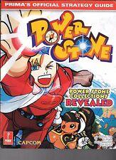 Power Stone Prima Official Strategy Guide Capcom Sega Dreamcast PB 1999