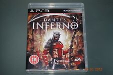 El Infierno de Dante PS3 Playstation 3 Dantes ** GRATIS UK FRANQUEO **