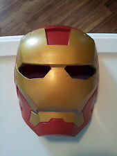 "Ironman-Face-Mask-9""-Tall-2010-Hasbro-Marvel-Entertainment-Pretend-Play-Costume"