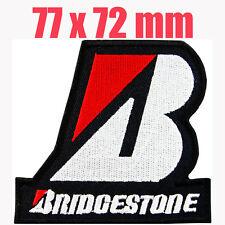 BRIDGESTONE Advertising Iron on Patch MotoGP Honda Yamaha Ducati Racing team