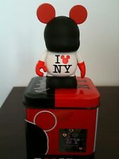 "I Love NY Times Square Exclusive NYC 3"" Vinylmation Sealed Tin NEW"
