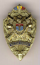 MOLDOVA Moldavia ARMY HONORED MILITARY OFFICER BADGE MEDAL SOLID BRASS