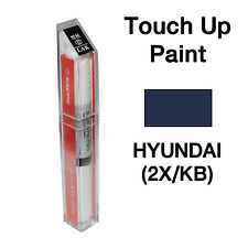 Hyundai OEM Brush&Pen Touch Up Paint Color Code : 2X / KB - Indigo Blue