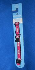 "Champion Breed Toy (Size 8-12"") Adjustable Pink Bones Dog Adjustable Collar NEW"