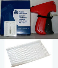 AVERY DENNISON FINE price TAGGING GUN WITH 1000 BARBS MARK III tag tagger