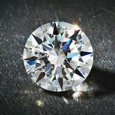 0.50ct Round Cut Solitaire Loose Diamond VVS1-G 5.0mm Single 1/2ct Round Diamond