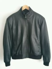 NEW Mens Real Leather Jacket Biker Style HEAVY WEIGHT ZIP 5 in and out pockets