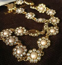 Kate Spade Park Avenue Pearls Necklace NWT Pearl & Crystal Single Strand