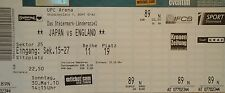 mint TICKET 30.5.2010 Japan - England in Graz