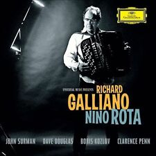 Nino Rota by Richard Galliano (CD, Nov-2011, DG Deutsche Grammophon (USA))
