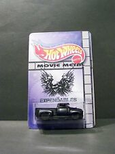 "Custom HotWheels 56 FORD and package of  ""Movie Metal""  EXPENDABLES"