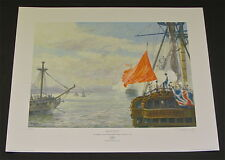 Geoff Hunt -  Mutiny - Collectible Nautical Giclee Print