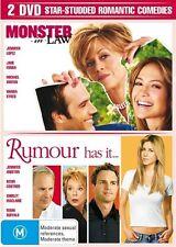 Monster In Law  / Rumour Has It DVD 2 Disc Set Lopez Fonda Sykes Aniston Costner
