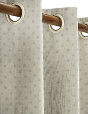 "Next  Door Mauve Chenille Spot Eyelet Curtain 135x229cms(53x90"")1 panel only"