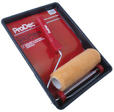 "ProDec 9 ""x 1.75"" Australian Sheepskin Roller & Tray Kit Emulsion Paint PRRT014"