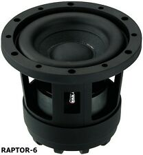 2 pezzi RAPTOR 6 SUBWOOFER KICK BASS MONACOR CARPOWER RAPTOR - 6 (2 pezzi)